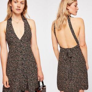 NWT Free People C'est La Vie Mini Dress